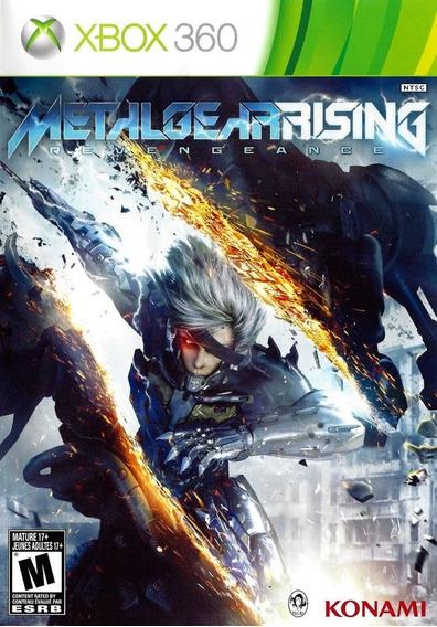 Game Metal Gear Rising Revengeance Lacrado Xbox 360