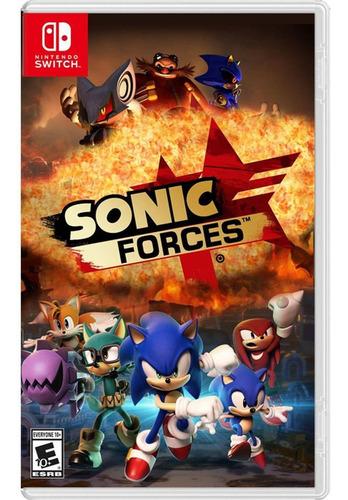Imagen 1 de 1 de Sonic Forces - Nintendo Switch Fisico Original