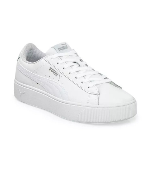 Zapatillas Puma Vikky Stacked L Dama - Blanco