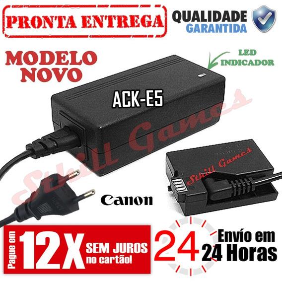 Fonte Ack-e5 Adaptador Ac Canon Rebel Xs Xsi T1i 450d 500d