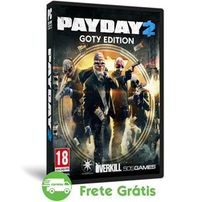 Payday 2 Pc Game Of The Year Edition Mídia Física + 40 Dlc