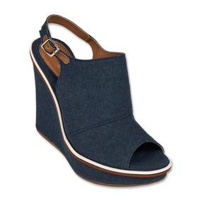 Calzado Zapato Zapatilla Plataforma Tacon Jeans Moda Casual