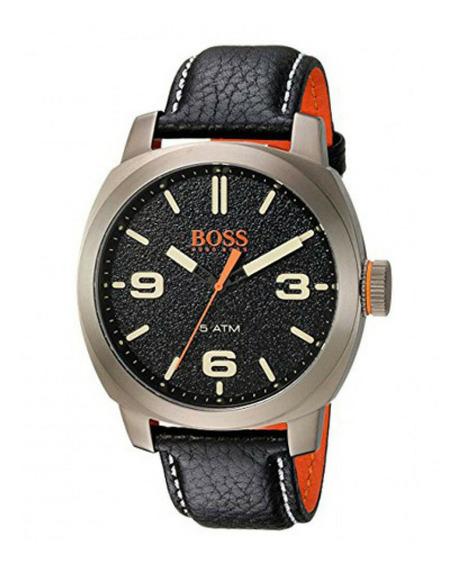 Relojanálogo Marca Hugo Boss Modelo: 1513409 Color Negro Par