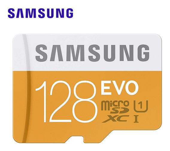 Cartão De Memória Samsung Micro Sd 128g Tf