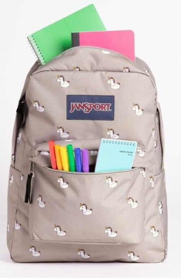Mochila Jansport Unicornios Superbreak Importada Usa