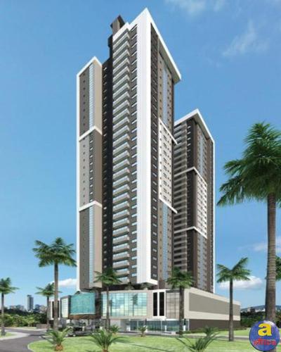 Imagem 1 de 3 de Apartamento 3 Suítes, 2 Vagas De Garagem Na Meia Praia Em Itapema/sc - Imobiliária África - Ap00588 - 69829932