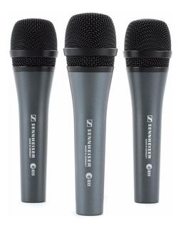 Pack 3 Unidades Micrófonos Sennheiser E-835