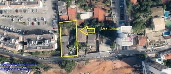 Terreno No Imbui Com 1020m² - Excelente Para Incorporação Imobiliária - Te00014jc