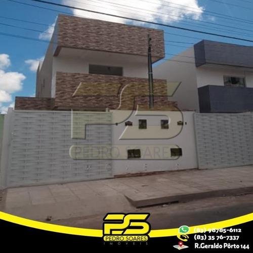 Casa Com 2 Dormitórios À Venda Por R$ 135.000,00 - Gramame - João Pessoa/pb - Ca0461