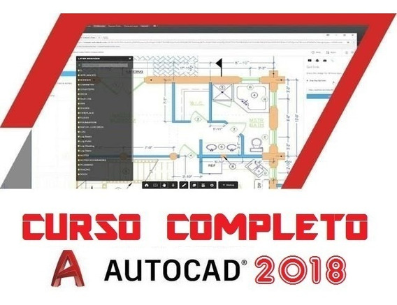 Curso De Autocad Em Apostilas Em Português E Vídeo-aulas