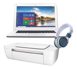 Laptop Vulcan Intel Quadcore Ssd 32gb Ram 2gb Blanco + Kit