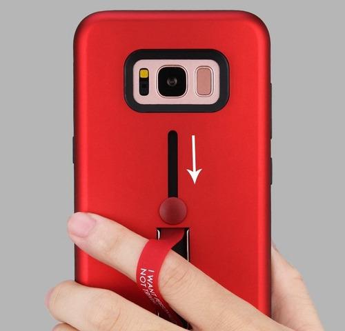 Estuche Con Agarre Cinta Samsung J5 Prime    - Fonotienda