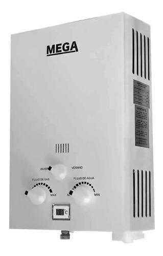 Calentador Agua Gas Mega 6 Lts Digital Tiro Natural Dimm