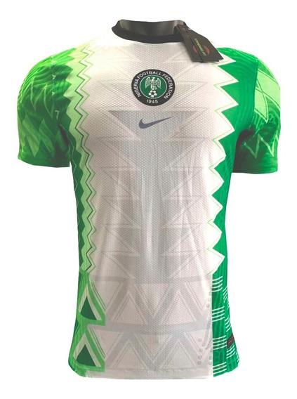 Linda Camisa Da Nigéria Modelo 2020 Nova Original + Frete