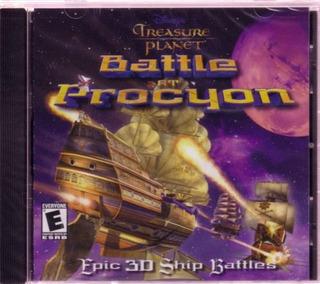 Treasure Planet Battle En Procyon Jewel Case Pc