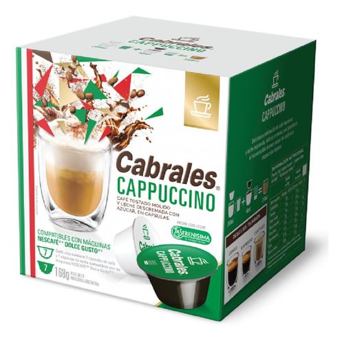 Cafe Capsulas Cabrales Dolce Gusto