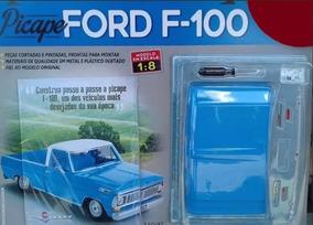 Coleção Ford F-100 Da Salvat Edição Nº1 Picape Ford F100 1/8