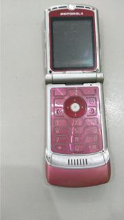 Celular Motorola V 3 Para Reirar Peças Os 18598