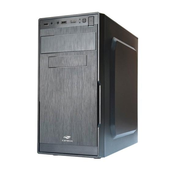 Computador Completo Hd 500gb 4gb C/ Teclado Mouse Caixa Som, Fone E Red Fone
