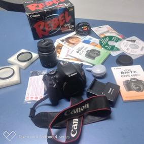 Camera Canon T3i 32gb Lente 18x55mm Kit Completo