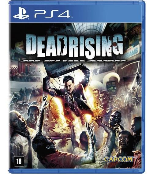 Game Ps4 Dead Rising - Original - Novo - Lacrado