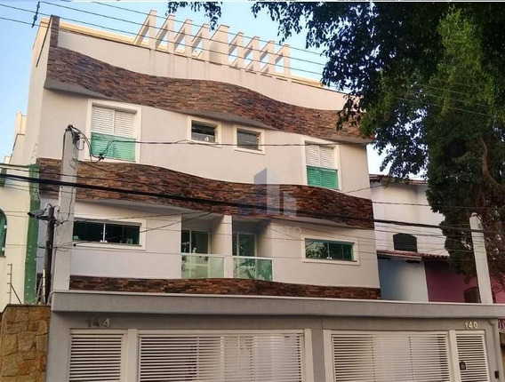 Apartamento Triplex À Venda, 157 M² Por R$ 530.000 - Campestre - Santo André/sp - At0001