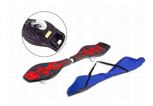 Rocking Skateboard Skate Com 2 Rodas Abec 7 Belfix