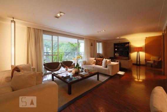 Apartamento No 2º Andar Mobiliado Com 3 Dormitórios E 3 Garagens - Id: 892967659 - 267659