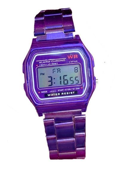 Reloj Clasico Vintage Retro A159 W Metalico Unisex