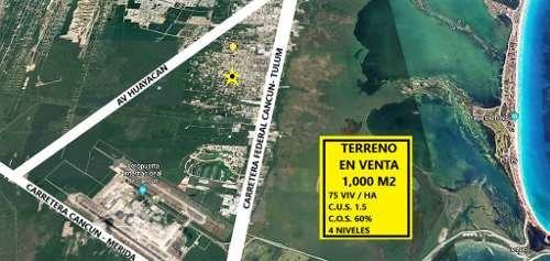 Terreno En Venta Cancun   C2524