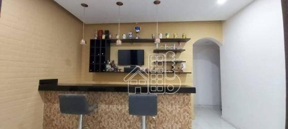 Apartamento Com 2 Dormitórios À Venda, 110 M² Por R$ 320.000 - Centro - Niterói/rj - Ap3351