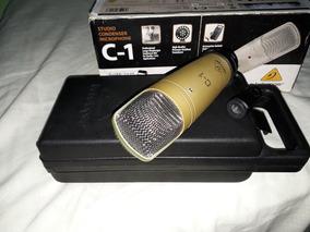 Microfone Beringher C 1 Para Estudio + Estojo C1