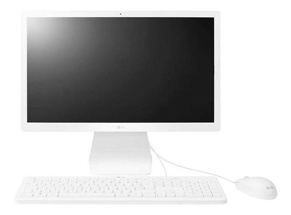 Computador Lg All In One 22v280-lbj41p1 4gb 500gb Branco