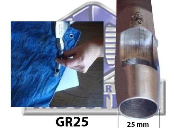 Broca - Sacabocado De 1 Pulgada (25mm) Y Pasta 10x15cms