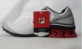 Tenis, Fila, Storm, White/red/black, 639004,