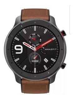 Relógio Xiaomi Amazfit Gtr A1902 47mm Aluminium Com Gps