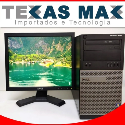 Imagem 1 de 8 de Kit Cpu Dell 9020 I5 + Monitor 17+ Mouse E Teclado