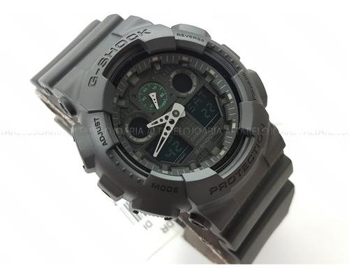 Relógio Masculino Casio Gshock Ga-100mb-1adr