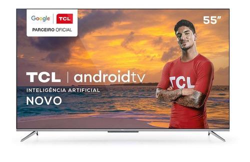 Smart Tv 4k 55  Tcl Led Ultra Hd 55p715 Bluetooth