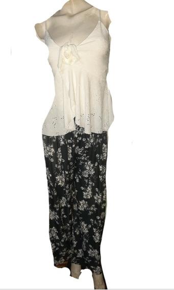 Pantalones De Mujer- Seda Fria,talles 6,7,8