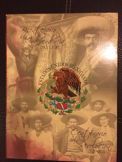 Álbum De Monedas Conmemorativas De 5 Pesos