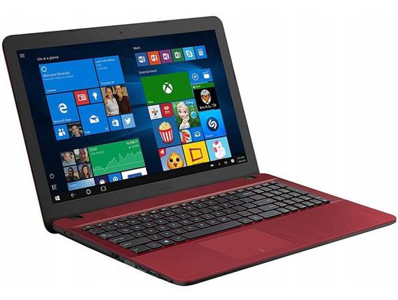 Notebook Asus X541ua-wb51t I5-7200 8gb 1tb W10 Vermelho