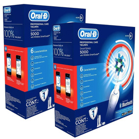 Pack 2 Cepillo Eléctrico Oral-b Professional 5000 Bluetooth