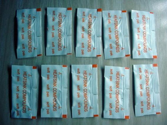 20 Sachês Pasta Térmica Silicone Cooler Fan Placa Vga