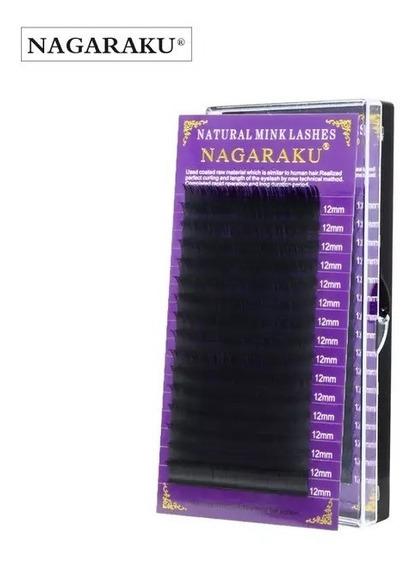 Pestañas Nagaraku Curva D 0.15 10mm 11mm 12mm 13mm 14mm 15mm