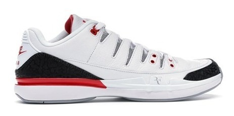 Tenis Nike Zoom Vapor Aj3 Fire Red - Novo
