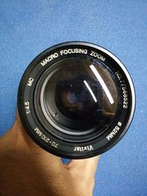 Objetiva Vivitar 70-210mm 1:4.5 Com Defeito No Estado