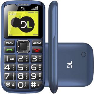 Celular Ideal Idoso Dl Yc-120 Rádio Função Sos Antena Rural