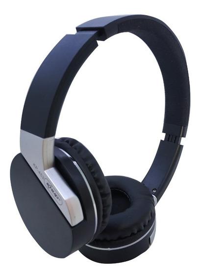 Fone Sem Fio Wireless Bluethooth C/ Microfone/fm/mp3/sd/p2