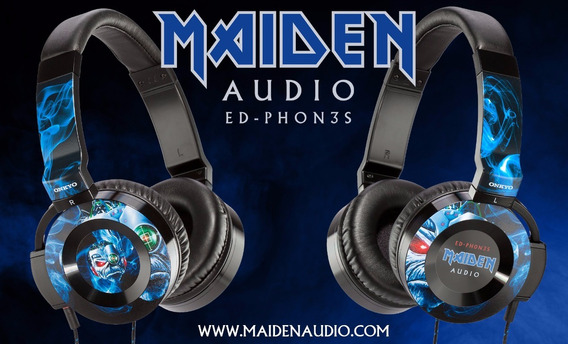 Fone Onkyo Iron Maiden Ed-ph0n3s Ouvido Bose Jbl Shure Akg
